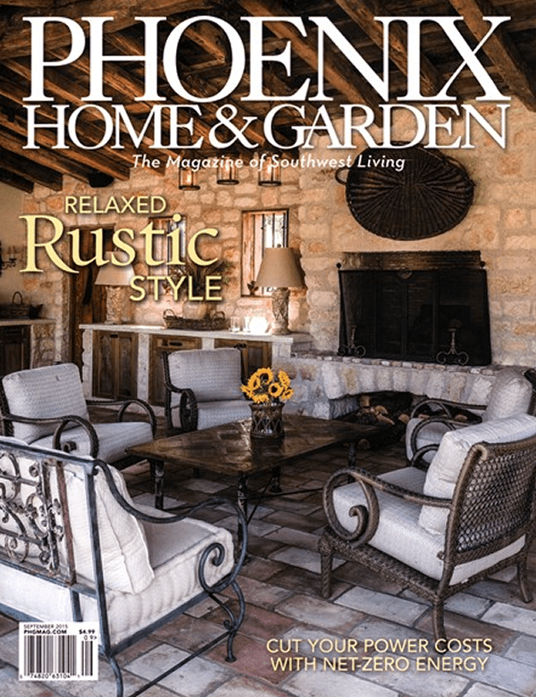 Phoenix Home & Garden Relaxed Rustic Style