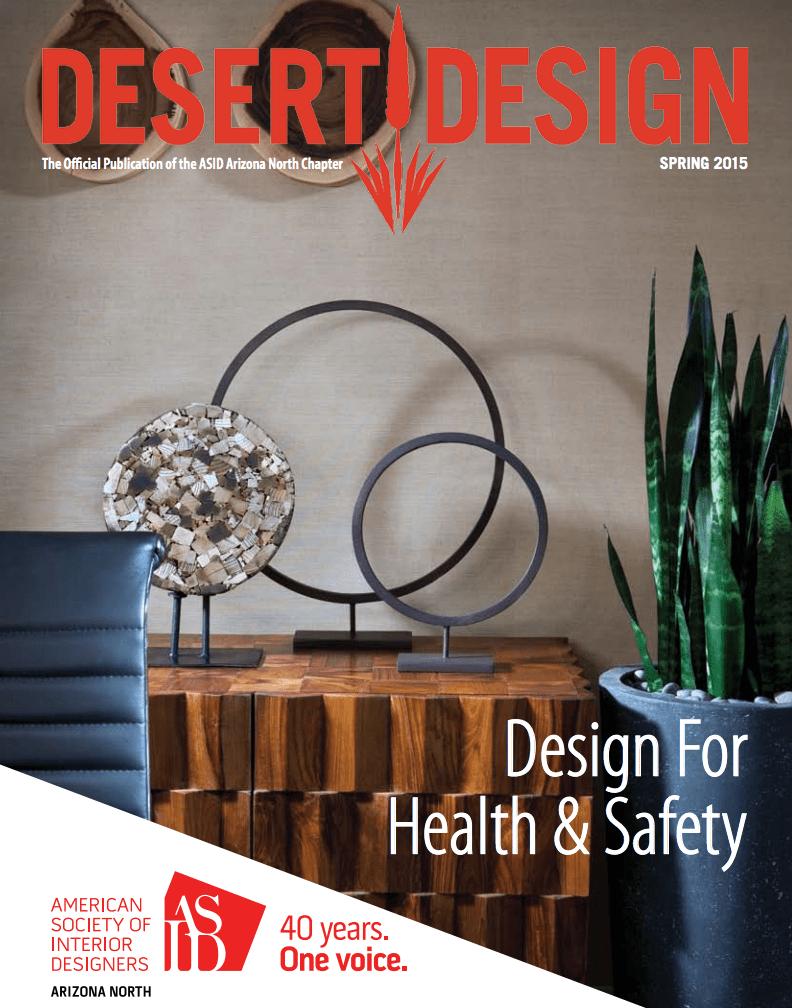 Desert Design Spring 2015 Design For Health & Safety