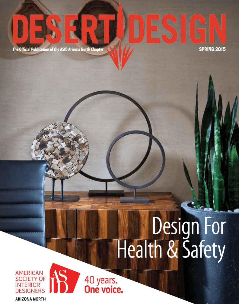 Desert Design Spring 2015 Design For Health & Safety