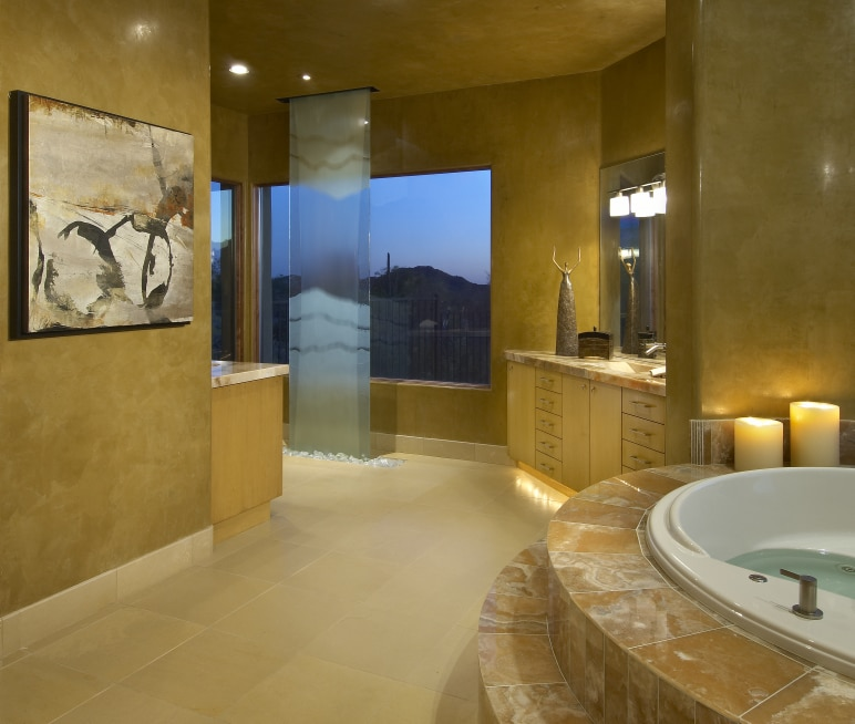 Lavish Master Bath